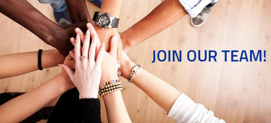 Join Our Team - team of hands all in!
